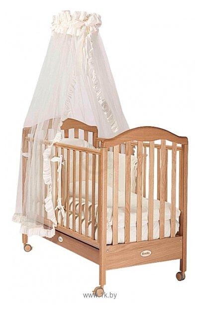 Детская кроватка Papaloni Санта 125х65. Детская кроватка-трансформер Велар М11