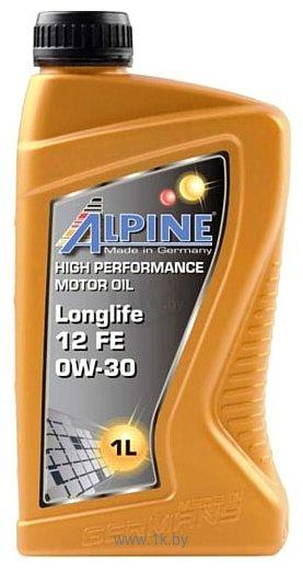 Фотографии Alpine Longlife 12 FE 0W-30 1л
