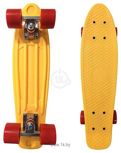 Фотографии Display Penny Board Yellow/red