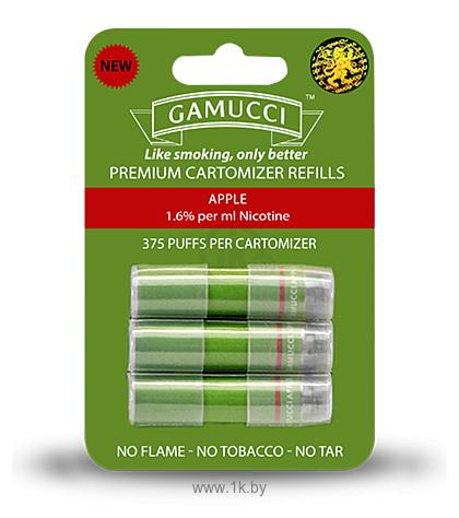 Фотографии Gamucci MICRO CARTOMIZERS APPLE 1.6% REGULAR