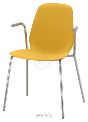 Фотографии Ikea Лейф-Арне (темно-желтый/дитмар хромированный) 993.042.10