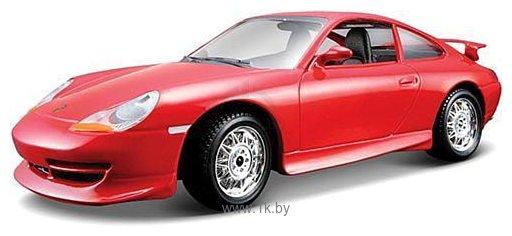 Фотографии Bburago Bijoux Porsche GT3 1:24 18-22084 (красный)
