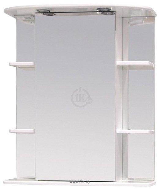 Фотографии Onika Шкаф с зеркалом Глория 60.02 левый (белый) (206007)