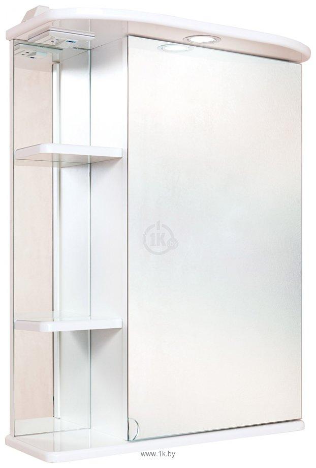 Фотографии Onika Шкаф с зеркалом Карина 60.01 правый (белый) (206010)