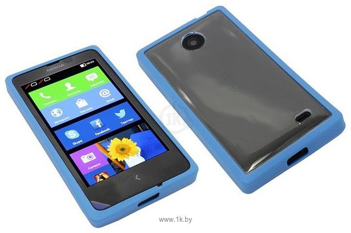 Фотографии NEXX Zero для Nokia X (голубой)