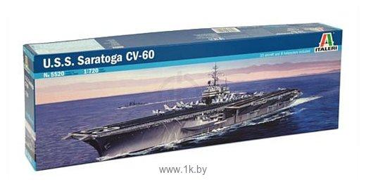 Фотографии Italeri 5520 Американский авианосец U.S.S. Saragota CV-60