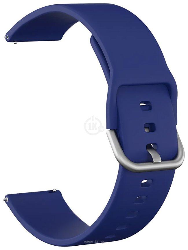 Фотографии KST силиконовый для Amazfit Bip (синий)