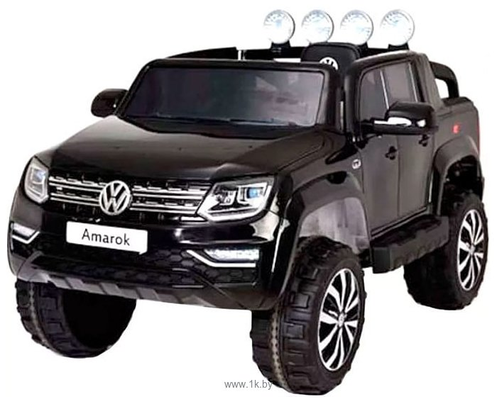 Фотографии RiverToys Volkswagen Amarok 4WD M999MM (черный)