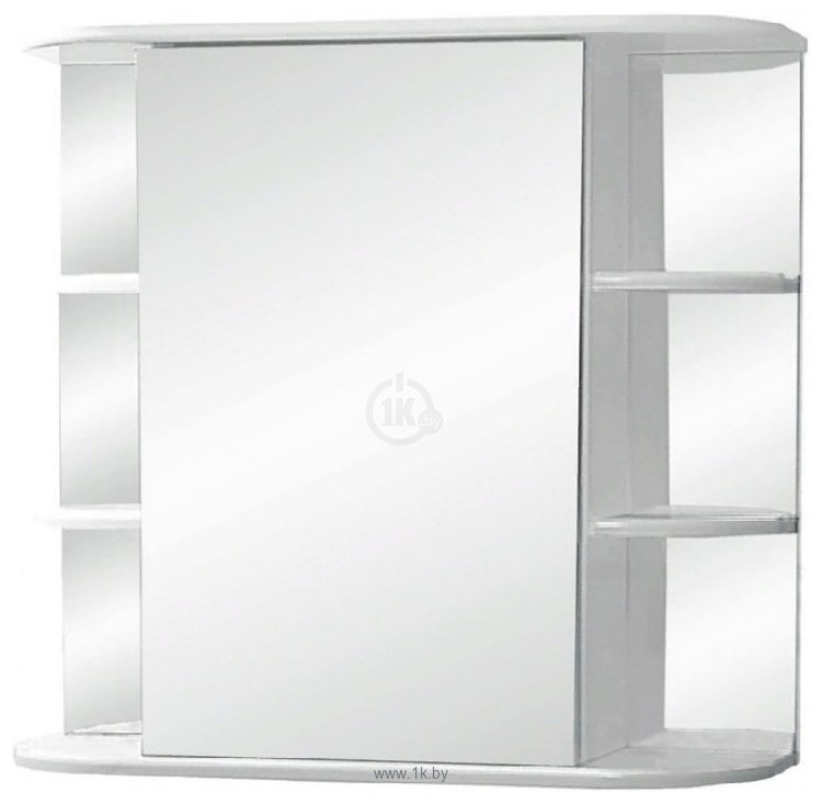Фотографии Tivoli Шкаф с зеркалом Герда 65 461780 (левый, белый)