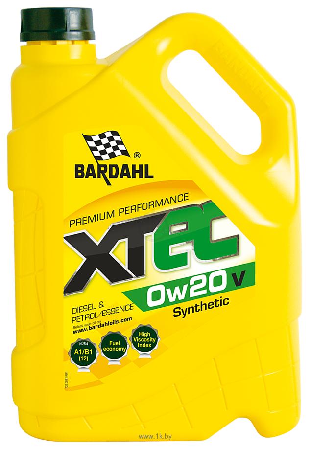 Фотографии Bardahl XTEC 0W-20 V 5л