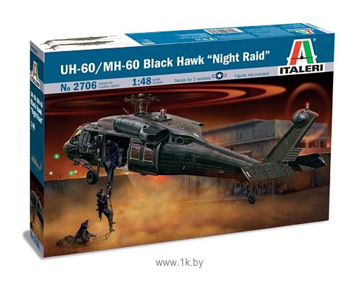 Фотографии Italeri 2706 Вертолет UH-60/MH-60 Night Raid