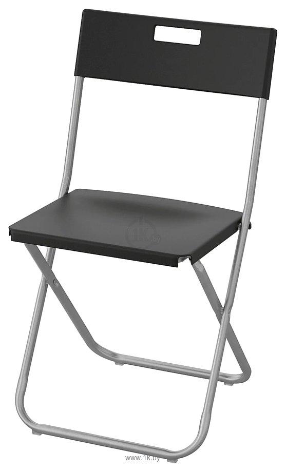 Фотографии Ikea Гунде (черный) (103.608.79)