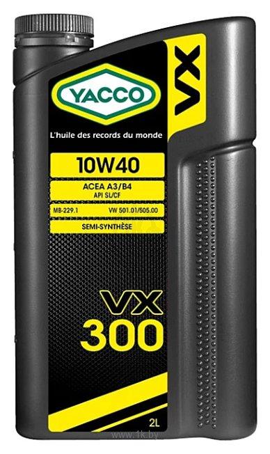 Фотографии Yacco VX 300 10W-40 2л