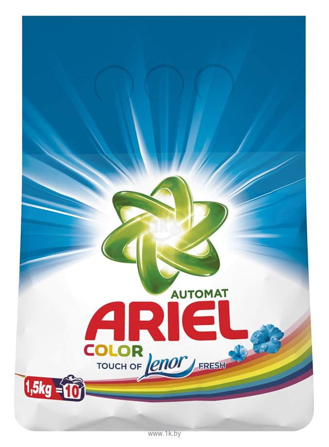 Фотографии Ariel Color Touch of Lenor Fresh 1.5 кг
