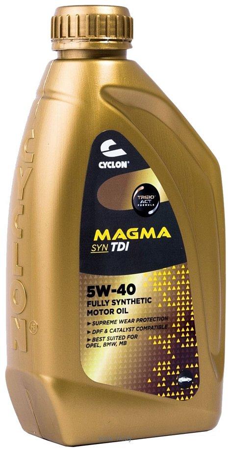Фотографии Cyclon Magma Syn TDI 5W-40 1л