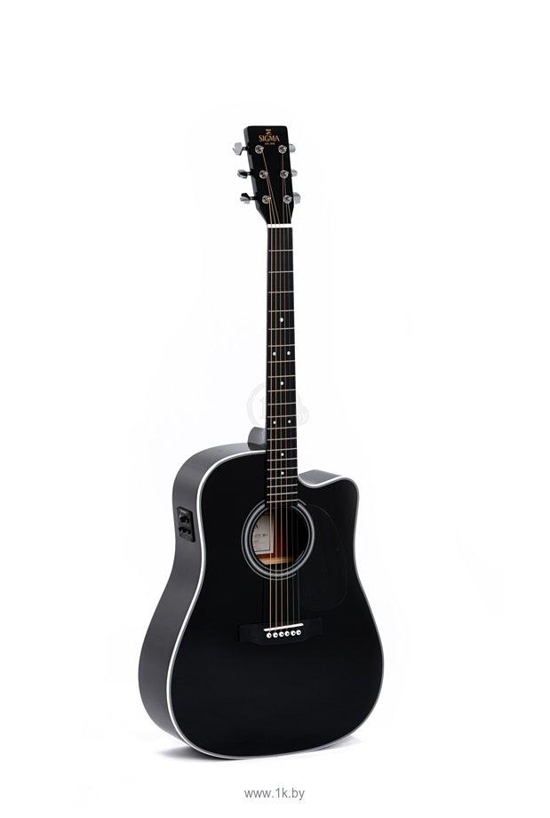 Фотографии Sigma Guitars DMC-1STE BK+