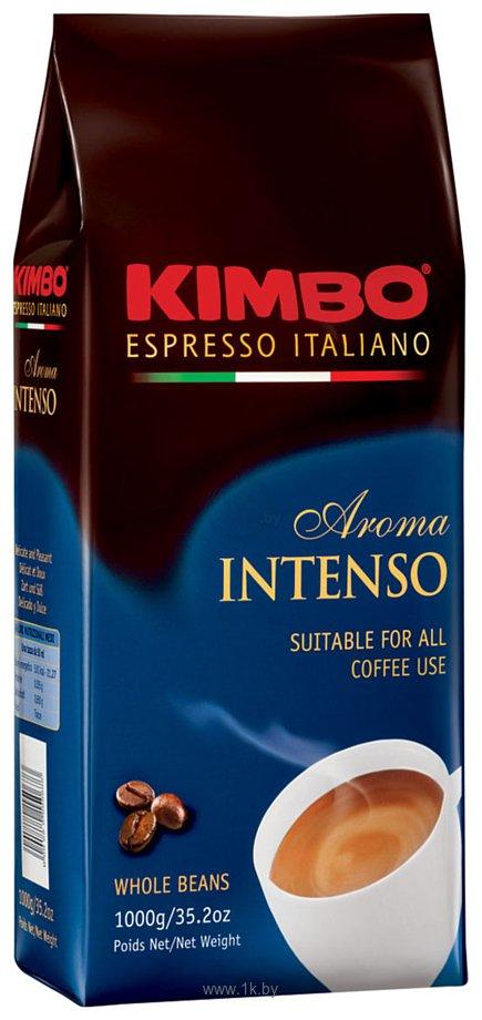 Фотографии Kimbo Aroma Intenso в зернах 1 кг