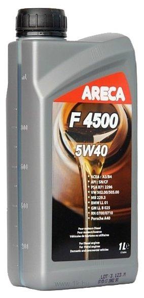 Фотографии Areca F4500 5W-40 1л (11451)