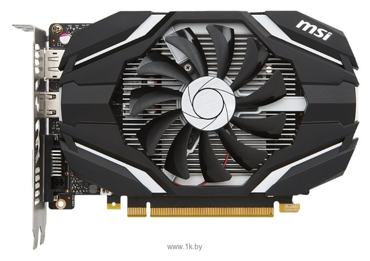Фотографии MSI GeForce GTX 1050 Ti OC