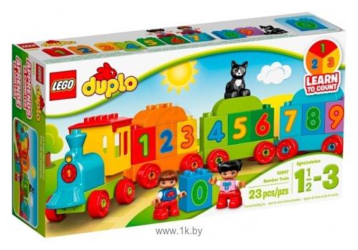 Фотографии LEGO Duplo 10847 Поезд Считай и играй