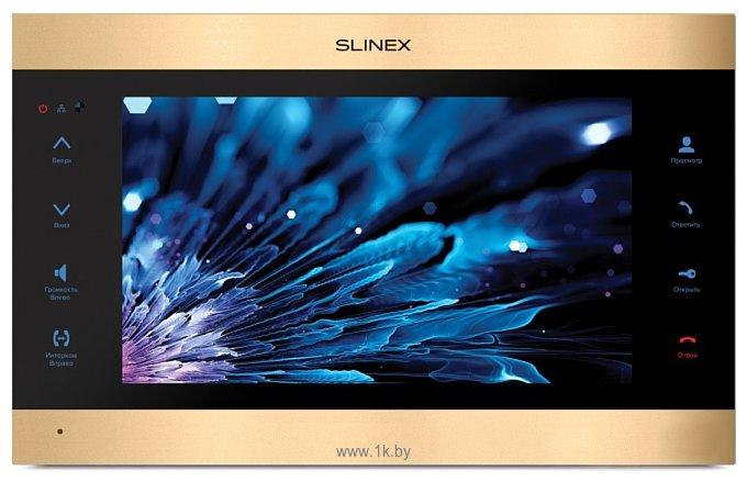 Фотографии Slinex SL-10IPT (золотистый/черный)
