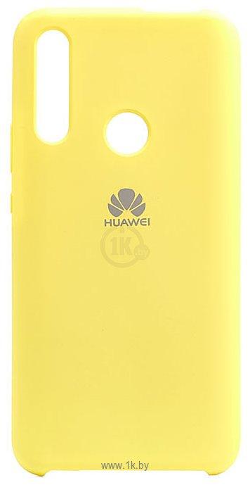 Фотографии EXPERTS SOFT-TOUCH case для Huawei Honor 9X/Y9 Prime 2019 (желтый)