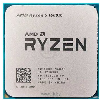 Фотографии AMD Ryzen 5 1600X Summit Ridge (AM4, L3 16384Kb)