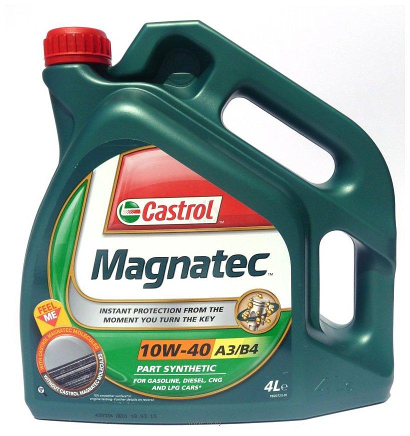 Фотографии Castrol Magnatec 10W-40 A3/B4 4л