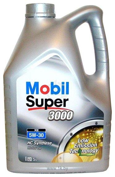 Фотографии Mobil Super 3000 XE 5W-30 5л