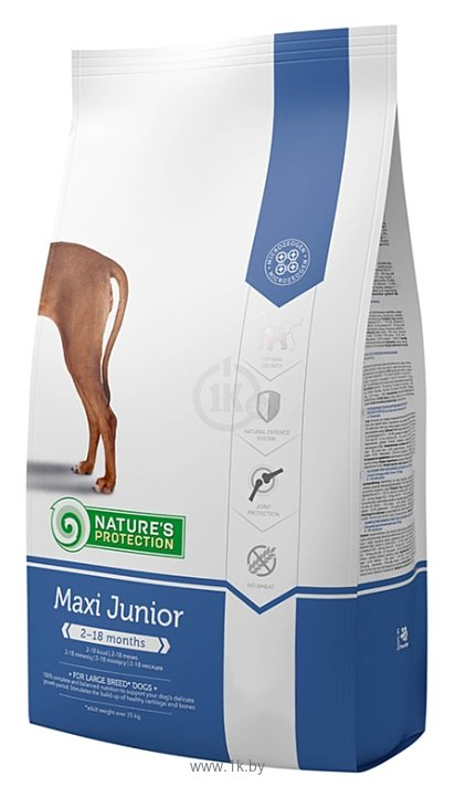 Фотографии Nature's Protection Maxi Junior (12 кг)