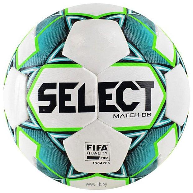Фотографии Select Match DВ FIFA (5 размер, белый/зеленый/черный)