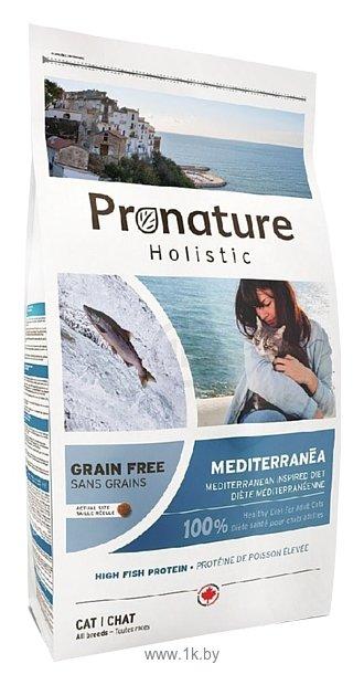 Фотографии ProNature Средиземноморское меню с сельдью, лососем и чечевицей для кошек (0.34 кг)