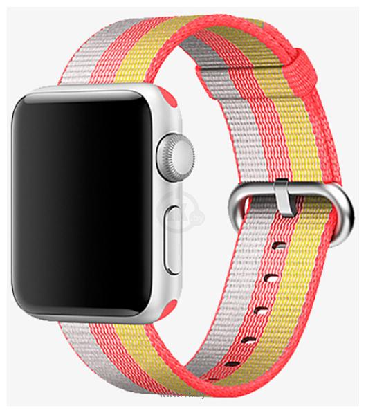 Фотографии Miru SN-02 для Apple Watch (золотистый/красный)