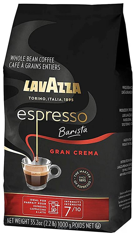 Фотографии Lavazza Espresso Barista Gran Crema в зернах 1000 г