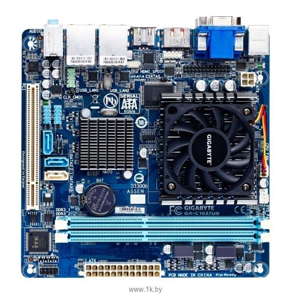 Gigabyte GA-D425TUD SATA2 Linux