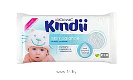 Фотографии Kindii Skin Balance с миндальным маслом и витамином Е (100шт)