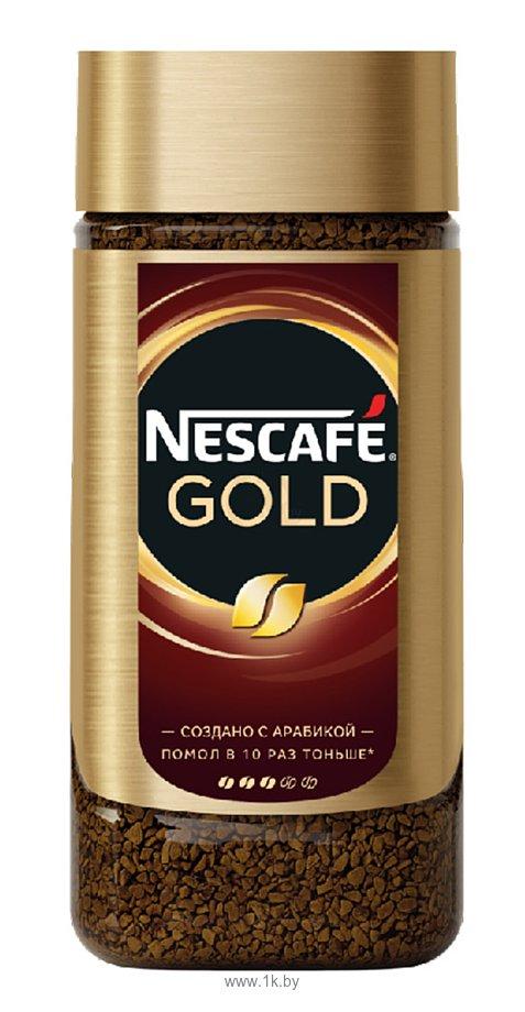 Фотографии Nescafe Gold растворимый 190 г (банка)