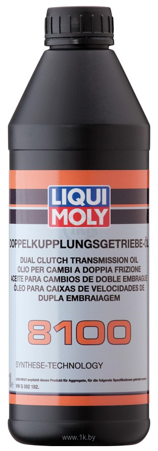 Фотографии Liqui Moly Doppelkupplungsgetriebe-Oil 8100 1л