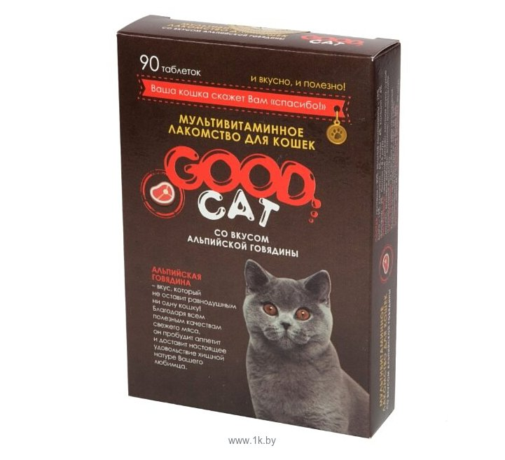 Фотографии GOOD Cat со вкусом альпийской говядины