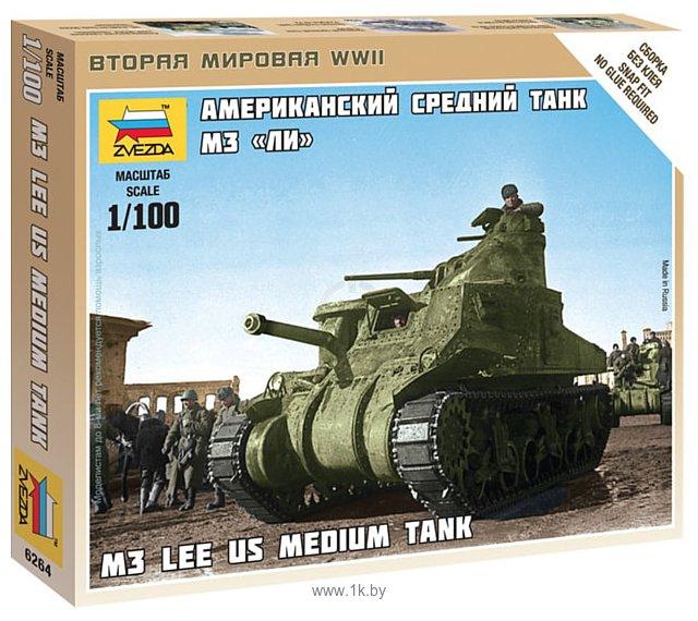 """Фотографии Звезда Американский танк """"M3 Lee"""""""