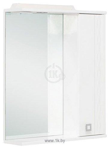 Фотографии Onika Шкаф с зеркалом Лига 60.01К правый (белый) (206030)