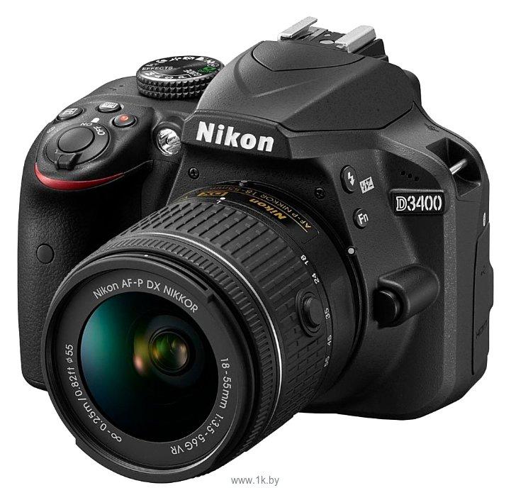 Фотографии Nikon D3400 Kit