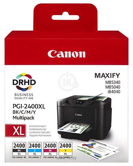 Фотографии Canon PGI-2400XL BK/C/M/Y