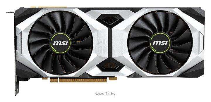 Фотографии MSI GeForce RTX 2080 Ti 1350MHz PCI-E 3.0 11264MB 14000MHz 352 bit HDMI HDCP VENTUS OC