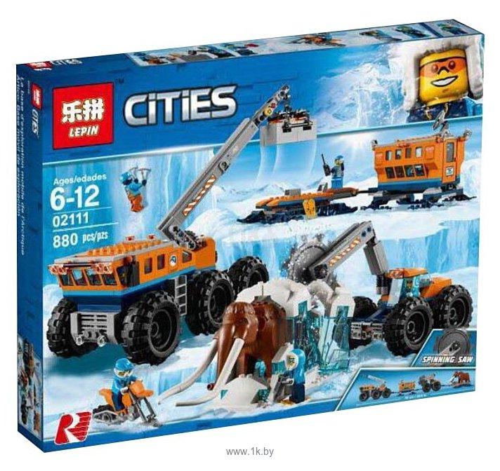 Фотографии Lepin Cities 02111 Передвижная арктическая база
