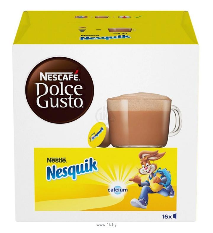 Фотографии Nescafe Dolce Gusto Nesquik 16 шт