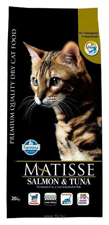 Фотографии Farmina (20 кг) Matisse Salmon & Tuna
