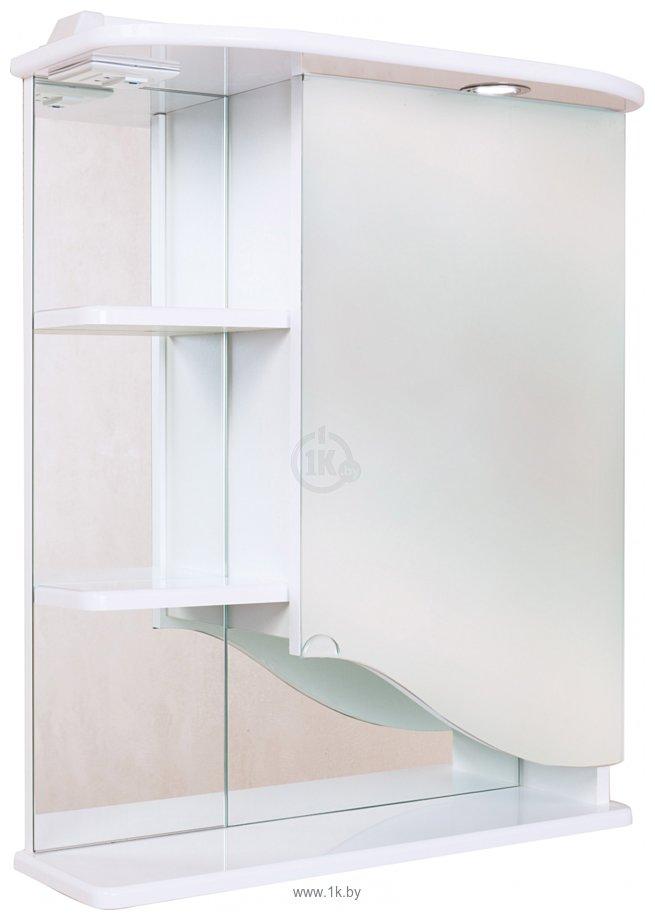 Фотографии Onika Шкаф с зеркалом Виола 60.01 правый (белый) (206004)
