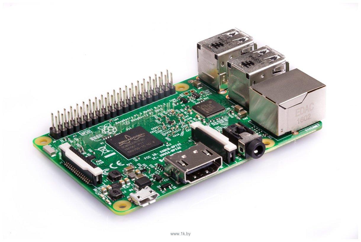 Фотографии Raspberry Pi 3 Model B