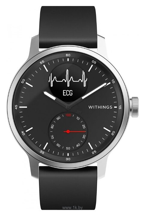 Фотографии Withings ScanWatch 42mm with silicone band